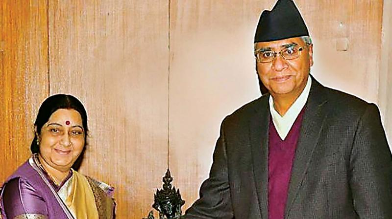 India will work with Oli government, says Sushma