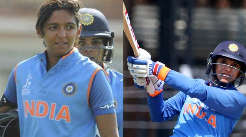 ndian star cricketers Smriti Mandhana and Harmanpreet Kaur will lead the two teams in an Indian Premier League-(IPL) style women's T20 challenge match, which will be played at the Wankhede Stadium on May 22. (Photo: PTI / BCCI)