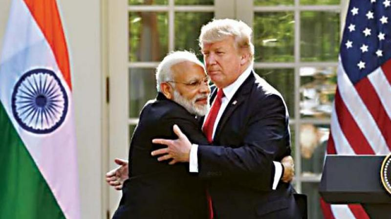 The meet between the two leaders is significant as multiple disagreements have cropped up between India and the US, including trade tariffs and an arms deal with Russia. (Photo: File)