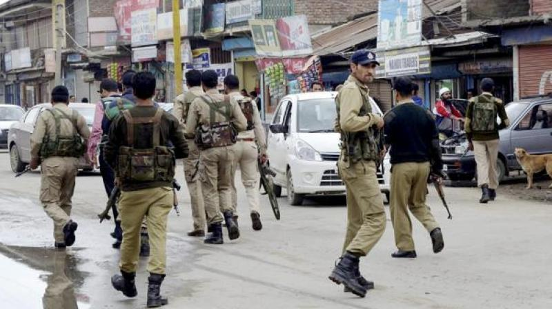 Security forces are enforcing a lockdown in parts of Jammu and Kashmir's summer capital Srinagar. (Photo: PTI/Representational)
