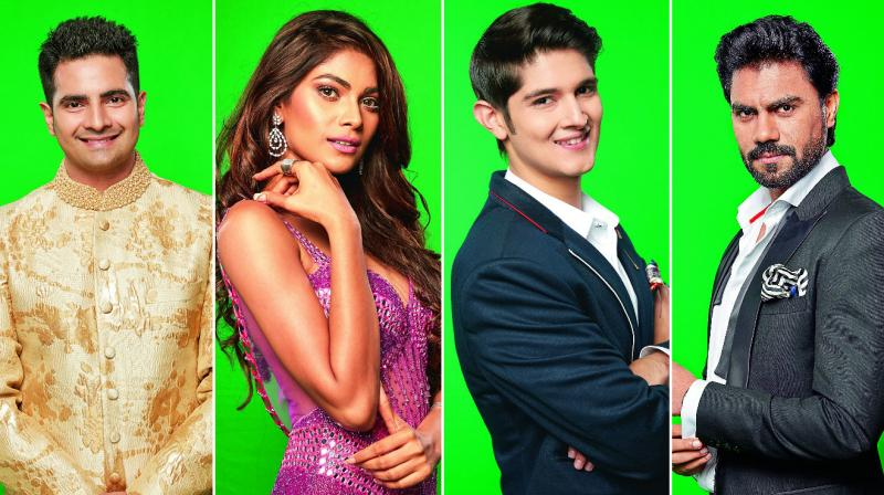 And, the Bigg Boss contestants are