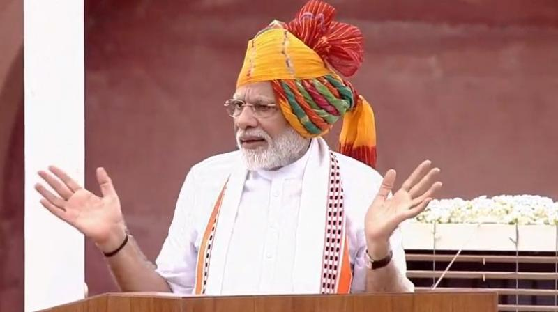 PM Modi's maiden I-Day address of second term also his second-longest