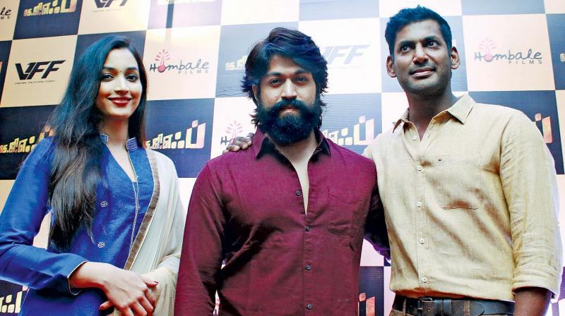 Srinidhi, Yash and Vishal