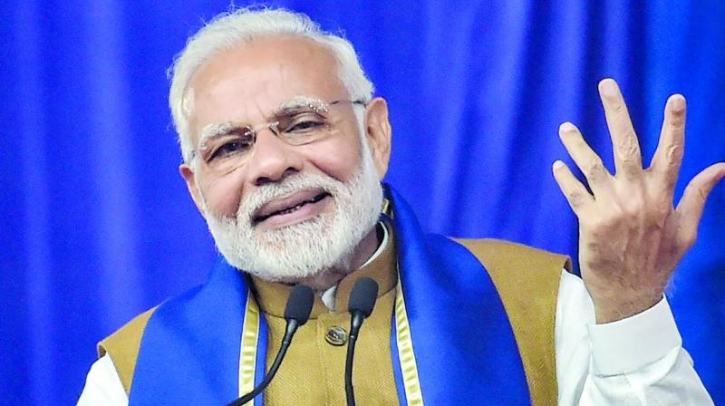 Modi talked about 'people's front' (comprising Congress, TDP and others) losing in Telangana Assembly polls but what about BJP which has been decimated, Dasoju said. (Photo: File)
