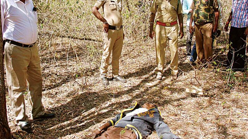 Sandalwood smuggler shot dead in Hassan forest