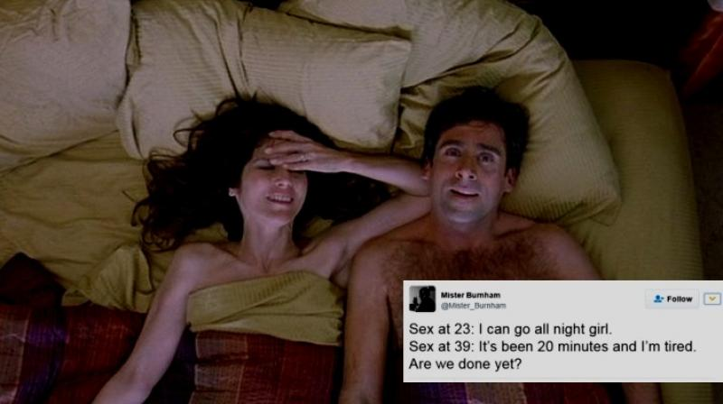 These Witty Tweets Accurately Describe How Sex Changes In Your 30S