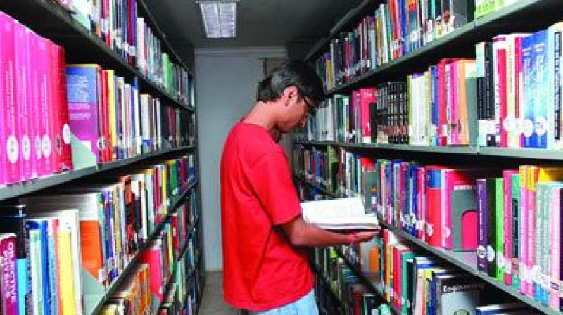 Around 13 libraries have been operating from rented buildings and find it difficult to pay the rent. Six libraries have become dysfunctional.