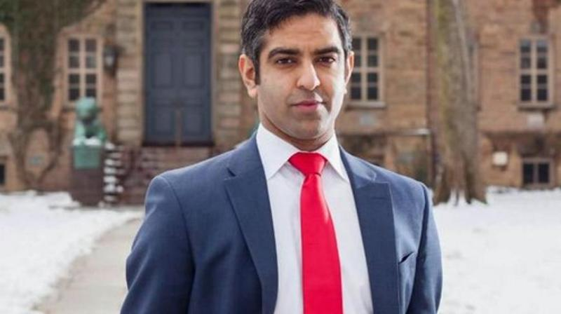 Hirsh Singh, an engineer from Atlantic County who works in the aerospace and defence industries, filed his campaign committee with the Federal Election Commission on Wednesday. (Hirsh Singh/Twitter)