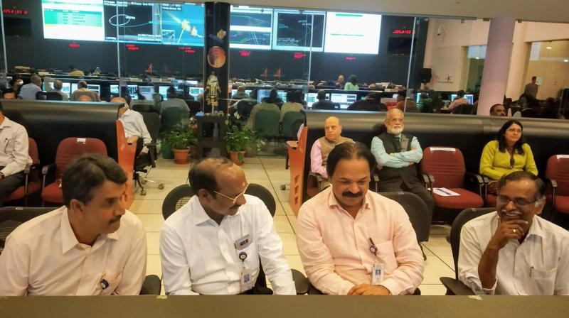 Earlier, the spacecraft's orbit was progressively increased five times between July 23 and August 6.  (Photo: ISRO twitter)