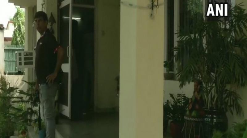 Police said there is a mention of a cop and one more person in the suicide note obtained from the IPS Kapoor's residence. (Photo: ANI)