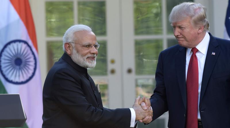 According to the White House, during the call, Donald Trump and Narendra Modi discussed further steps to ensure denuclearisation of North Korea. (Photo: AP)