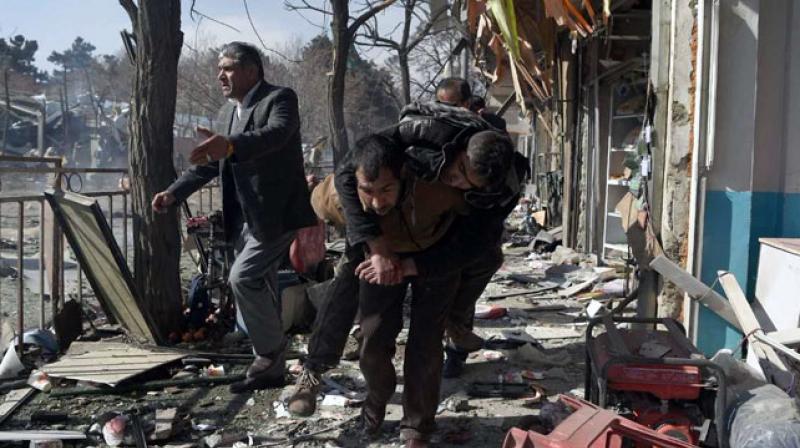 17 killed, 110 injured in Kabul blast