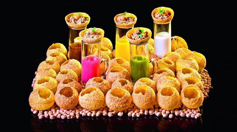 Pani puri, puchka, golgappa, pani ka batasha, gup chup — all monikers for a very popular street food in India; each has a different name but one heart.