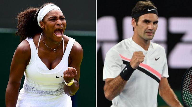 Roger Federer Serena Williams Headline Australian Bushfire