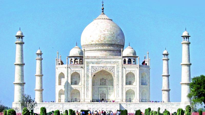 The Supreme Court told the Uttar Pradesh government that the vision document on the Taj Mahal, being prepared by the Delhi School of Planning and Architecture, should be made public. (Photo: File)