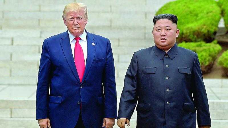 A spokeswoman for the US State Department said Trump remained committed to making progress on agreements he reached with Kim Jong Un at a first summit in Singapore in June last year, namely 'transformed relations, building lasting peace, and complete denuclearisation.' (Photo: File)