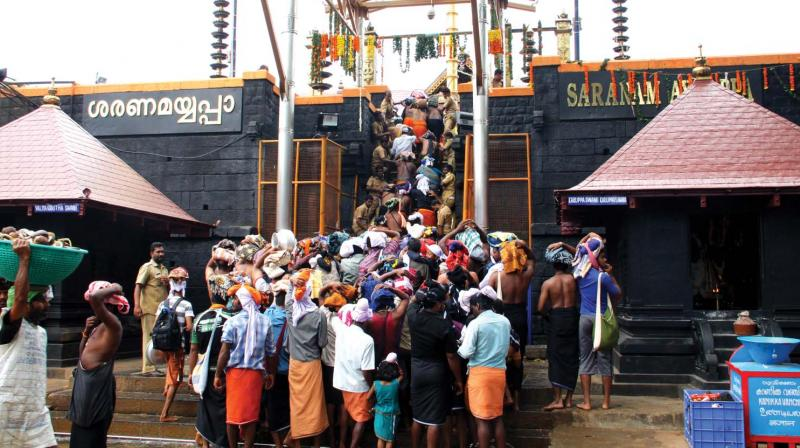 Kerala government is likely to convene an all-party meeting to discuss various matters relating to the Sabarimala temple. (Photo: File)