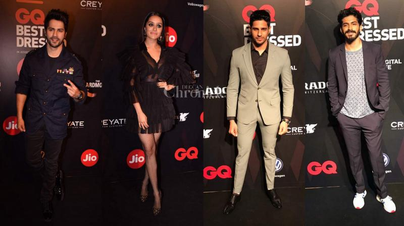 Bollywood stars don't need a reason to display their sartorial excellence and when it's a do like the GQ Best Dressed Awards, the efforts are bound to escalate manifold.(Photo: Viral Bhayani)