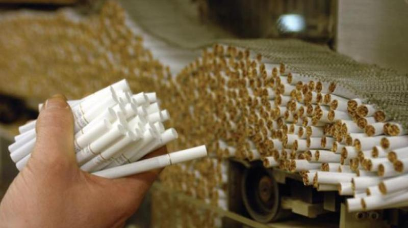 December. '17: Task force in August seized foreign cigarettes worth Rs 19 lakh at Hyderabad railway station. (Representational image)