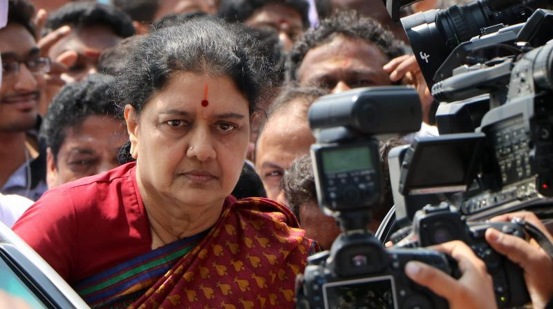 AIADMK General secretary VK Sasikala. (Photo: PTI)