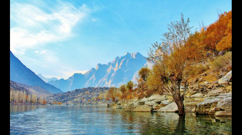 Pakistan has lots to offer in terms of tourism like the stunning Upper Kachura lake in the Gilgit-Baltistan region of northern Pakistan. (Photo: Pixabay)