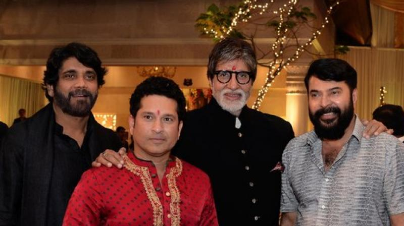 Nagarjuna Akkineni to work on a Bollywood Biggie with Big B