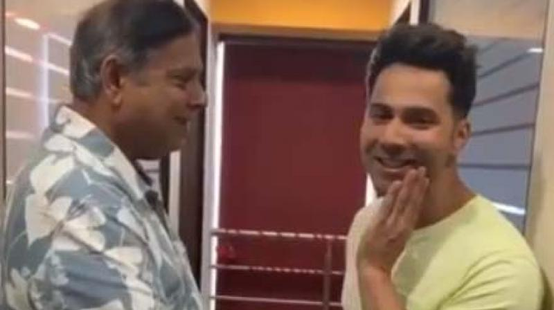 Also seen celebrating Father's Day was Varun Dhawan, who took to Instagram to post a funny video with dad David.