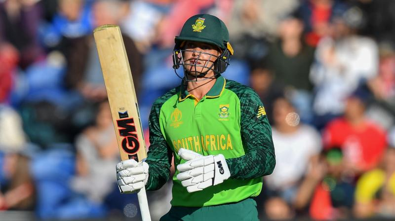 Quinton De Kock, who scored a half-century in the low-scoring match against Afghanistan last time out, said the team were in a good place despite defeats by England, Bangladesh and India. (Photo:AFP)