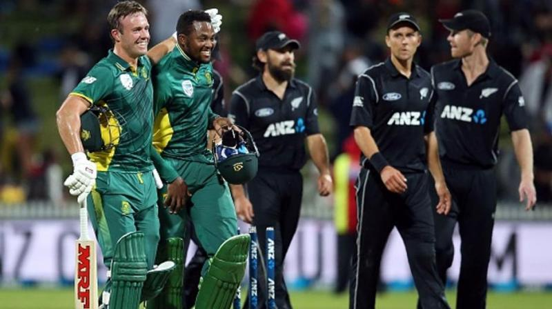 The Kiwis, and India, remain the only team who are yet to be defeated. 20 years later, South Africa are back again in the same place at Edgbaston for their first World Cup game versus New Zealand since the 1999 World Cup semi-final against Australia. (Photo:AFP)