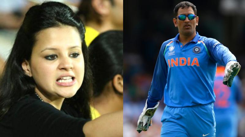 MS Dhoni's wife asks for gun license citing threat to her life
