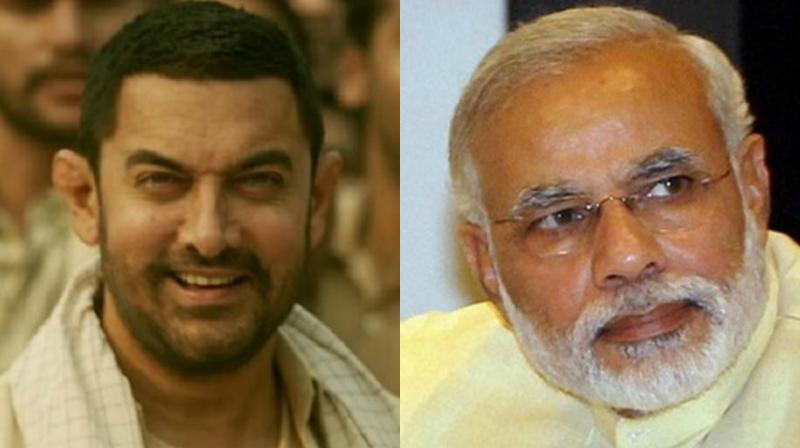 Narendra Modi, however, is still the most followed on actual Twitter, ahead of Aamir Khan and others.