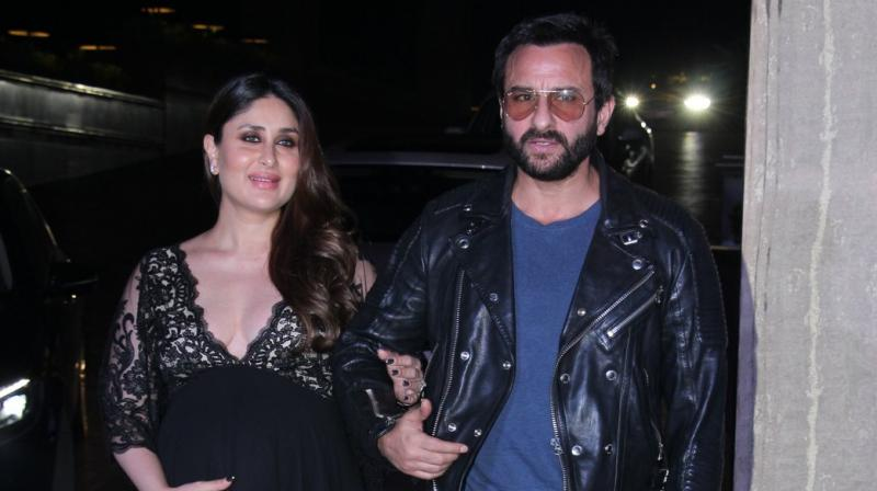 Saif Ali Khan and Kareena Kapoor Khan.