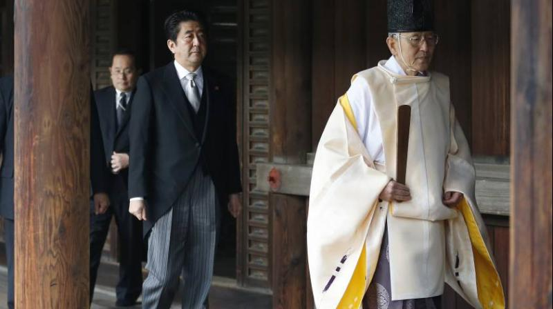 The shrine honours millions of Japanese war dead, but also senior military and political figures convicted of war crimes after World War II. (Photo: AP/File)