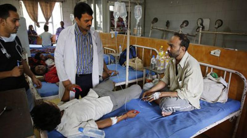 In 1996, Delhi had recorded about 10,252 cases of dengue and 423 deaths, prompting the authorities to declare it a notifiable disease. (Photo: PTI)