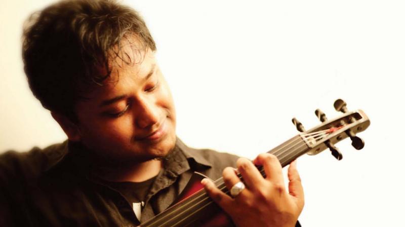 Violinist Fayiz Muhammed