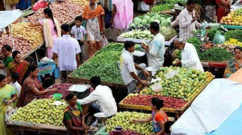 India's retail inflation rate slightly picked up to 3.77 percent in September, government data showed on Friday, driven by higher food and fuel prices and a depreciating rupee.