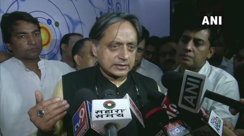 Shashi Tharoor has had his hands full recently fighting battles on various fronts. On August 31, the Delhi police asked a city court to frame charges of abetment to suicide against him in the case related to death of his wife Sunanda Pushkar in 2014. (Photo: ANI)
