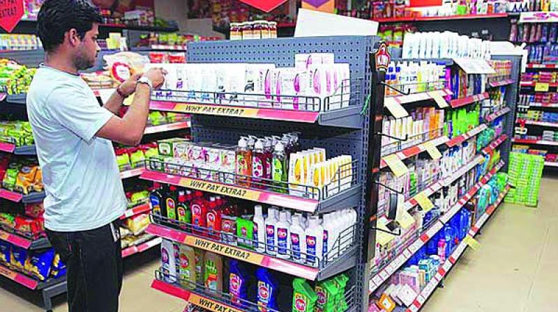 The volume growth in FMCG sector has slowed down in the wake of the rural slowdown, liquidity tightening and a dip in consumer sentiment.