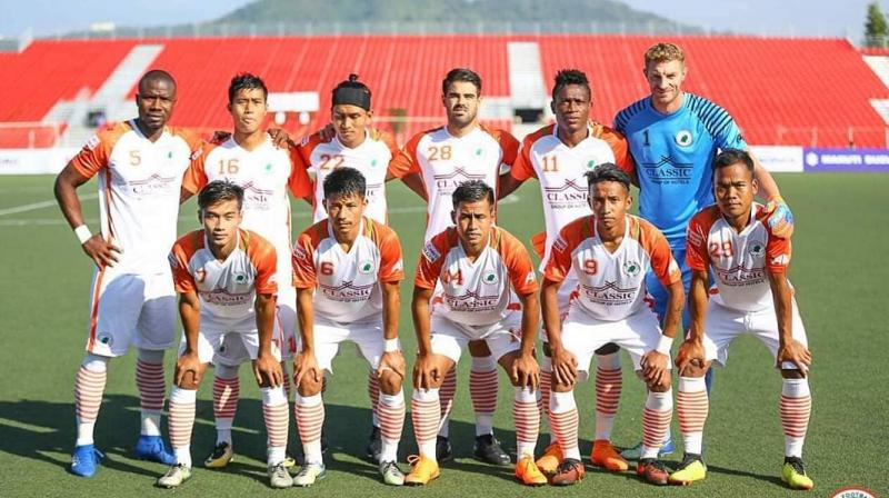 Neroca now have five points from one win, two draws and one loss while Real Kashmir FC have four points from one win, one draw and one loss. (Photo: Twitter)
