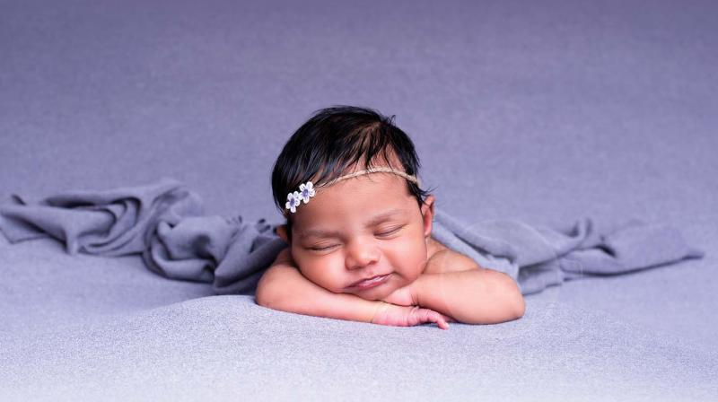 Though the trend of baby photography is not new, it isn't gaining popularity at a rapid pace. (Photo by Arun)