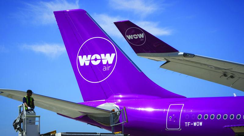 Almost 10 low-cost airlines  collapsed in 2018.
