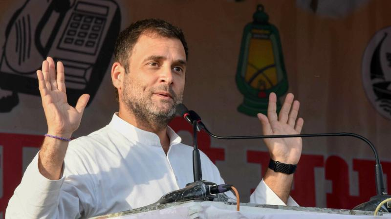 Modi hai to mumkin hai: Rahul's jibe at PM over possible lowest GDP growth since 1947