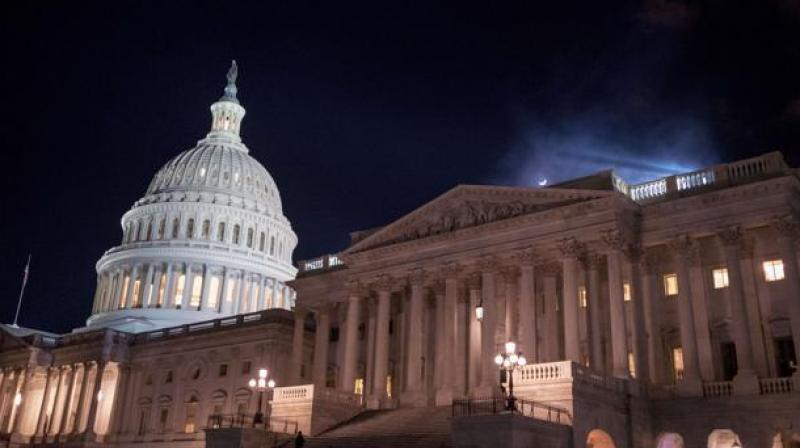 The US government on Thursday was assured of careening into its second shutdown in three weeks beginning at midnight after the Senate adjourned when a conservative lawmaker blocked a vote on a far-reaching budget deal. (Photo: AFP)