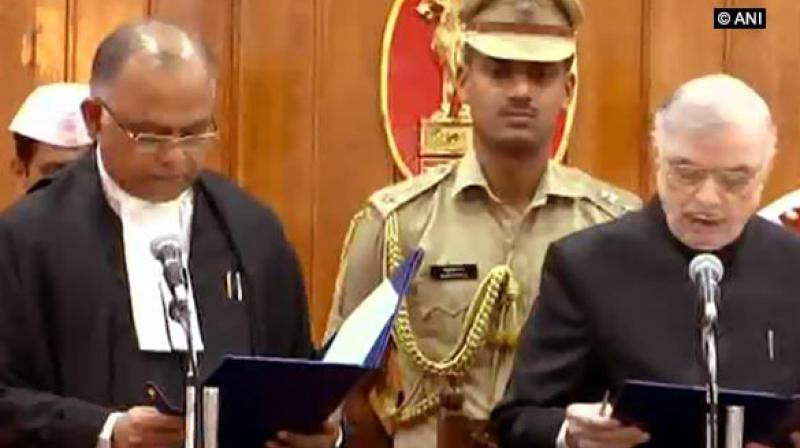 Justice Dominic, a native of Ponkunnam near Kanjirapally in Kottayam district, completed his law at SDM Law College, Mangalore. (Photo: ANI)