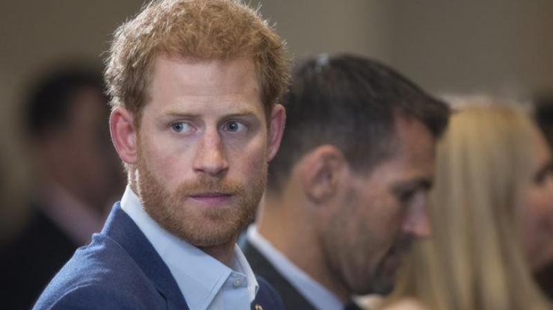 Prince Harry. (Photo: AP)