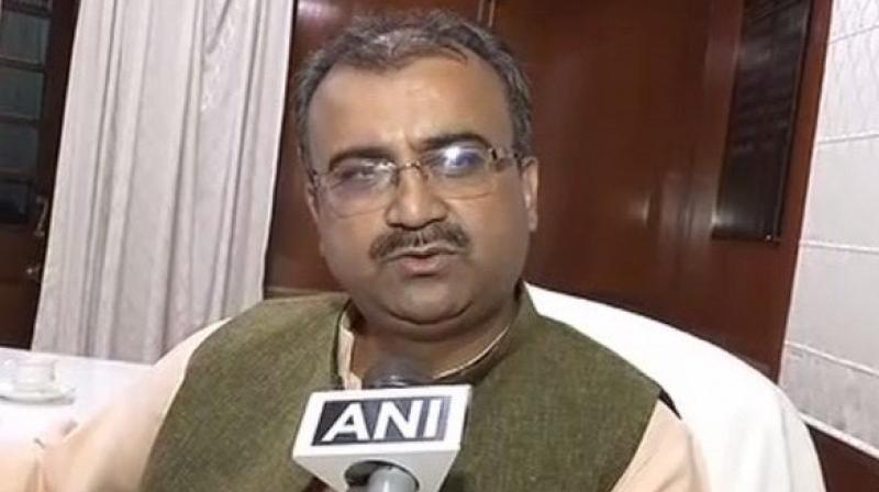 Bihar Health Minister Mangal Pandey said that he doesn't think these words are objectionable. (Photo: ANI/Twitter)