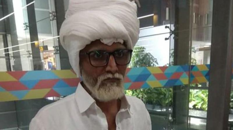 He allegedly used a fake passport with the name of Amrik Singh, aged 81 years. (Photo: Twitter | CISFHQ)