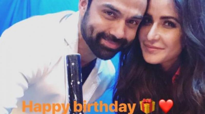 Katrina Kaif wishes Abhay Deol Happy Birthday.