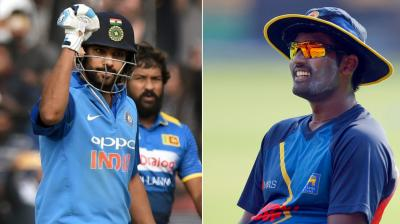 Rohit Sharma-led India will hope to complete yet another series win when the hosts face Thisara Perera's Sri Lanka in the third and deciding ODI here on Sunday. (Photo: PTI / AP)