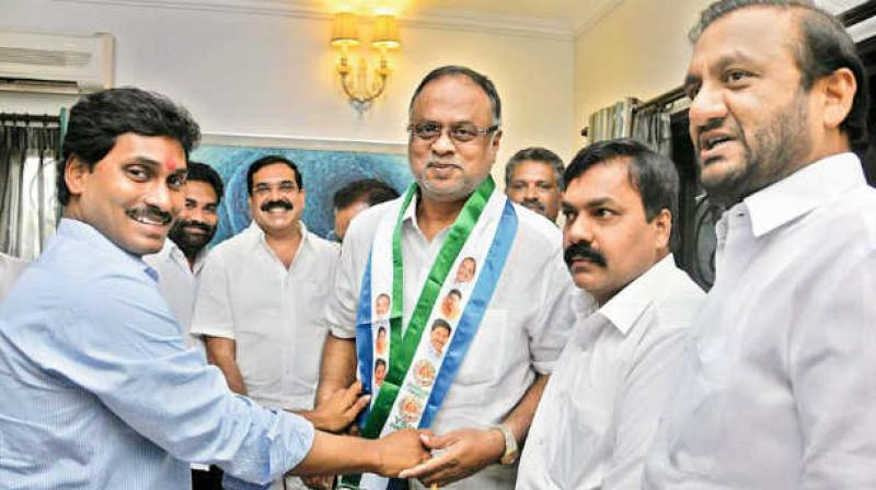 The YSR Congress candidate is Vemireddy Prabhakar Reddy who has already filed his nomination.